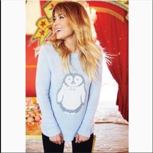 LC Lauren Conrad blue sweater size medium
